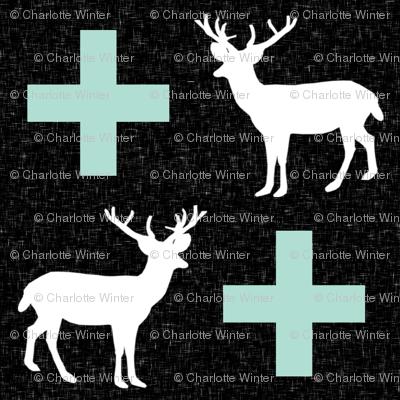 deer plus mint black