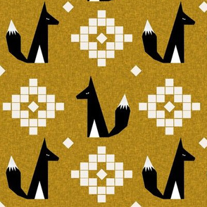 arizona fox golden linen
