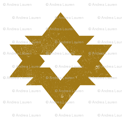 Aztec - Golden Ochre by Andrea Lauren