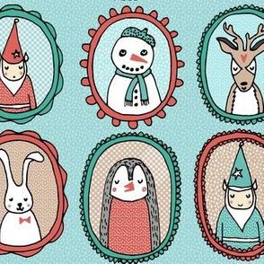 Christmas Portraits - Larger Size by Andrea Lauren