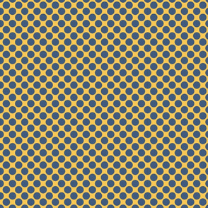 Blue Yellow Dots