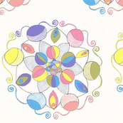 easter egg circles