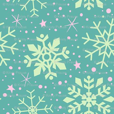 4x4-pattern-snowflake-tealpink_preview