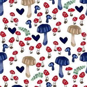 Mushroom grove
