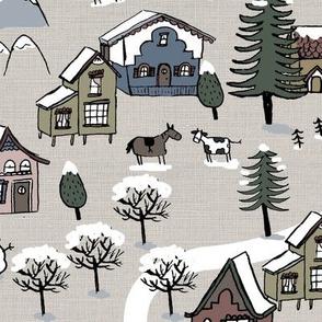 2017 Tea towel calendar - woodland