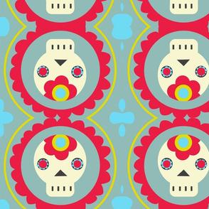 Retro skulls