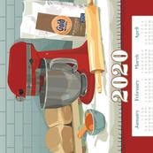 2020 Calendar Towel - The Beloved Stand Mixer