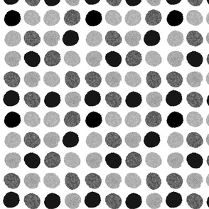 dots monochrome linen grayscale black grey
