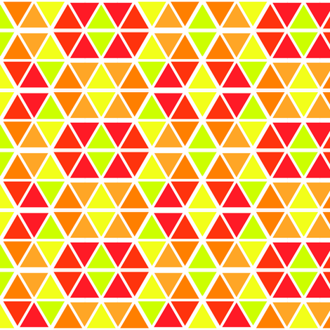 Triangles fabric by ravengill on Spoonflower - custom fabric