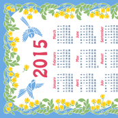 2015 Calendar - Birds in Flight