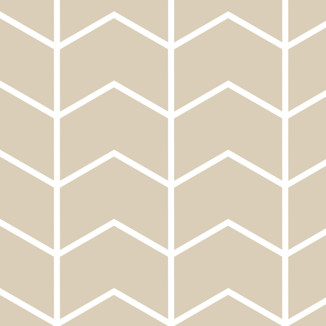 chevron // tan - Rustic Woods fabric by littlearrowdesign on Spoonflower - custom fabric