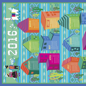 2016 Peruvian Tea Towel