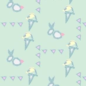 Bunnies and Icecream Mint