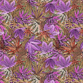 Violet Cannabis Camo