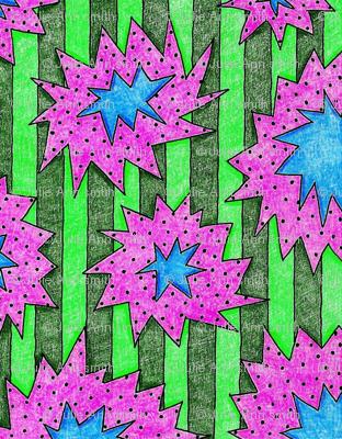 Crazy_sunflowers_starburst_stripe_pink_72_preview