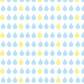 Raindrops - sky
