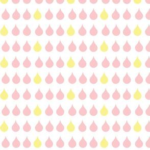 Raindrops - petal