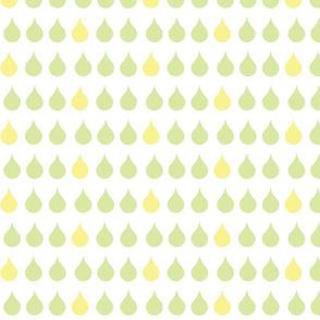 Raindrops - meadow