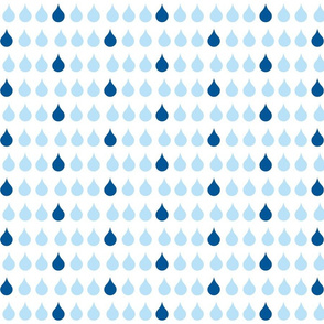 Raindrops 575 - ocean