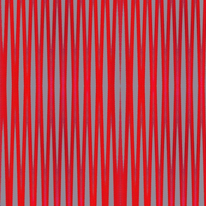 Red Gray Zig Zag Pattern tell3people