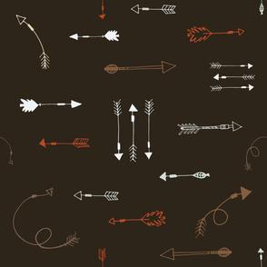 Arrows in Cavern Colorway