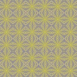 yellow gray diamond kaleidoscope tell3people