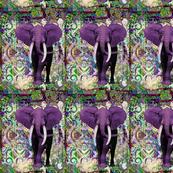 purple elephant