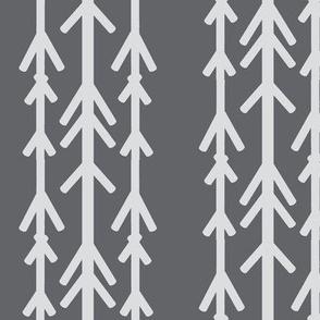 arrows grey white