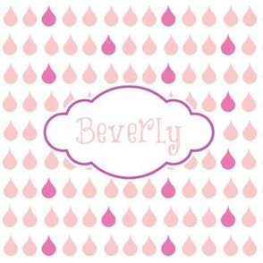 Raindrops Berry - personalized