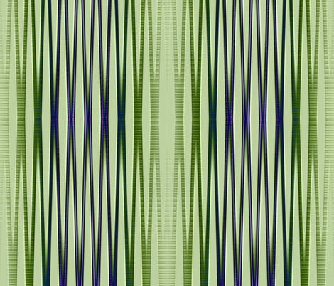 green purple blue vertical stripes tell3people fabric by tell3people on Spoonflower - custom fabric