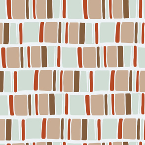 Tribal Block Stripes