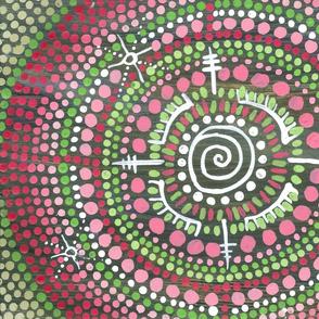 heart centre altar cloth
