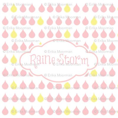 raindrops petal - PERSONALIZED Raine Storm
