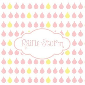 raindrops petal - PERSONALIZED Raine Storm