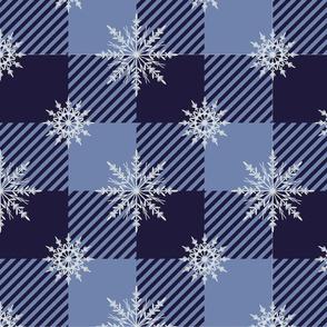 Snowflake Gingham