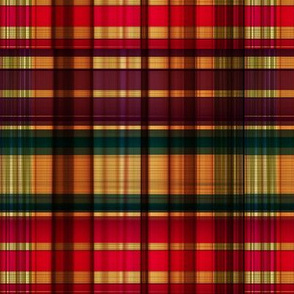 Royal colorful tartan pattern