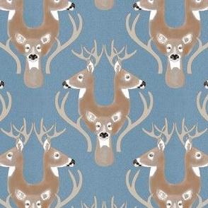 Deer Damask