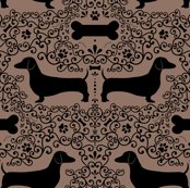 Doxie_damask_layout_brown_shop_thumb