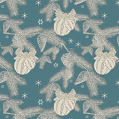 Glittering Silvery Pines