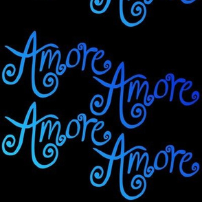 Amore - Blues on black