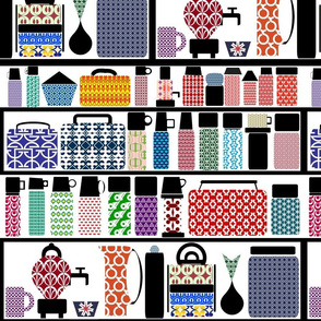 Thermos Collection (+ Lunchboxes,Tiffins,Samovars,& Cruets)
