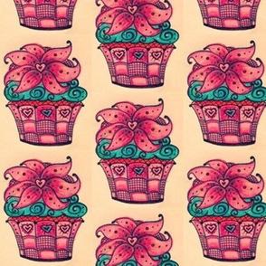 Wild Berry Cupcake