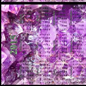 2015 Calendars - Amethyst Delight