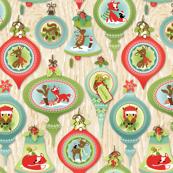 Woodland Christmas Ornaments