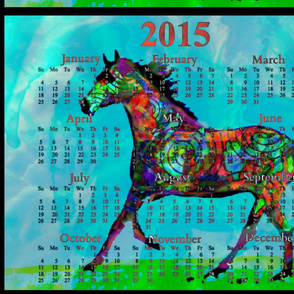 2015 Calendars - Celtic Horse 2