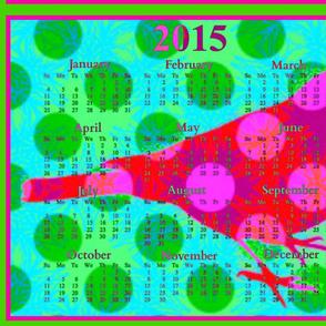 2015 Calendars - Birdsongs 1: Happy New Year Bird 2