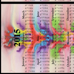 2015 Calendars - In The Flow, Chakra Dance