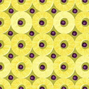 Pineapple and Black Olives