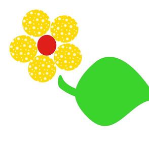 Next:Dotty Yellow Flower with Giant Leaf (daylight)