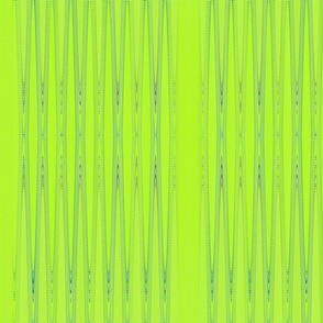 lime green blue vertical stripes tell3people